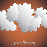 Happy Thanksgiving! Royalty Free Stock Photography