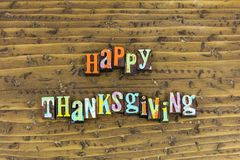 Happy thankgiving holiday family welcome royalty free stock photo