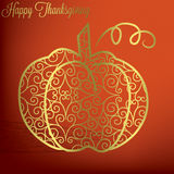 Happy Thanksgiving! Stock Photography
