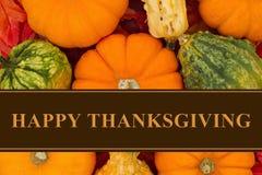 Happy Thanksgiving Greeting Royalty Free Stock Photos