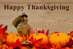 Happy Thanksgiving greeting Royalty Free Stock Photos