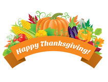 Happy Thanksgiving greetings Royalty Free Stock Image