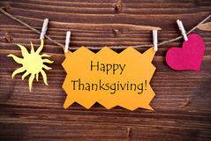 Happy Thanksgiving Greetings Stock Images