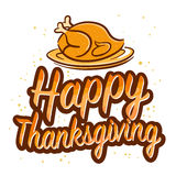 Happy Thanksgiving Greetings Royalty Free Stock Photo