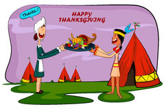 Happy Thanksgiving holiday greeting card Royalty Free Stock Photo