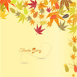 Happy thanksgiving. Illustration of happy thanksgiving design Stock Photo
