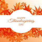 Happy thanksgiving. Illustration of happy thanksgiving design Stock Images