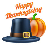 Happy Thanksgiving Illustration Royalty Free Stock Images