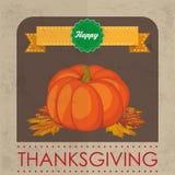Happy Thanksgiving Pumpkin Royalty Free Stock Photo