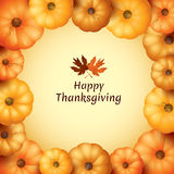 Happy Thanksgiving Royalty Free Stock Photo