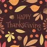 Happy Thanksgiving. Seamless pattern. vector illustration