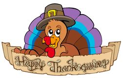 Happy Thanksgiving theme 1 Stock Image