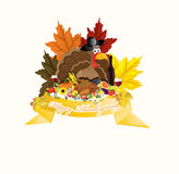 Happy Thanksgiving theme Stock Photo