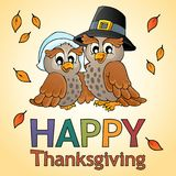 Happy Thanksgiving theme 9 Royalty Free Stock Photography