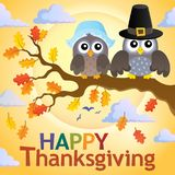 Happy Thanksgiving theme 4 Royalty Free Stock Photography