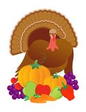 Happy thanksgiving turkey Royalty Free Stock Photography