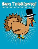 Happy Thanksgiving! Turkey! Stock Photography