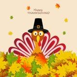 Happy Thanksgiving Turkey Royalty Free Stock Photography