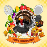 Happy Thanksgiving Turkey Royalty Free Stock Photo