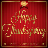 Happy Thanksgiving! Royalty Free Stock Images