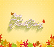 Happy Thanksgiving vector illustration Royalty Free Stock Images
