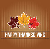 Happy Thanksgiving stock illustration