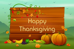 Happy Thanksgiving wallpaper background Stock Photos