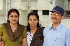 Happy threesome Stock Image