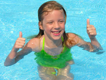 Happy thumbs up Stock Photography