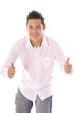 Happy thumbs up Stock Image