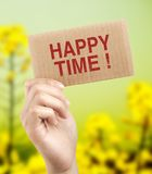 Happy time Royalty Free Stock Image