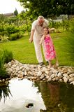 Happy time with grandchild Royalty Free Stock Images