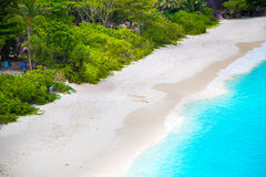 Happy time at similan islands. Of Thailand National Park Stock Photo