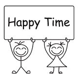 Happy Time Stock Photography