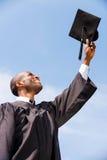 Happy to be graduated. Stock Photos