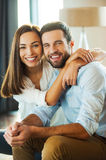 Happy to be together. Stock Images