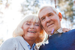 Happy to be together. Royalty Free Stock Photos