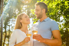 Happy to be together. Stock Photography