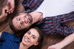 Happy to be together. Stock Photos