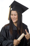 Happy to graduate Royalty Free Stock Image