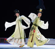 "Happy to meet-Jiangxi opera ""Red pearl"" Stock Photography"