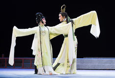 "Happy to meet-Jiangxi opera ""Red pearl"" Stock Photos"