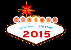 Happy 2015 Stock Photos
