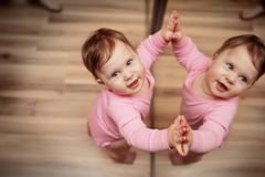 Happy toddler Stock Photography