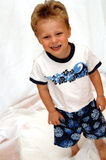 Happy toddler boy Stock Photography