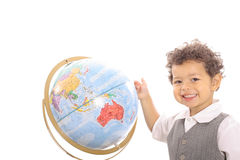 Happy toddler education Royalty Free Stock Photo