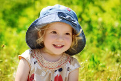 Happy toddler Stock Images