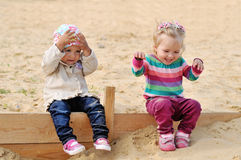 Happy toddlers Royalty Free Stock Photography