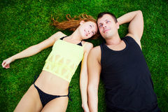 Happy together Royalty Free Stock Images