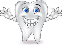 Happy tooth Royalty Free Stock Photography